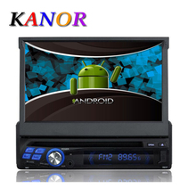Universal 7″ 1 Din Android 4.4 Quad Core Car DVD GPS Navigation With Autoradio WIFI Audio Stereo Capacitive Touchscreen
