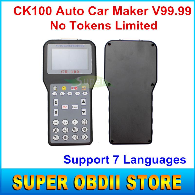 Лучший программер CK100 нет жетоны ограниченной ск-100 производитель ключи от машины V99.99 последнее поколение SBB CK 100 с многоязычным