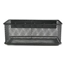 Горячая новинка металлическая проволочная сетка Магнитная корзина для хранения лоток стол Caddy органайзер для хранения FP8(Китай)