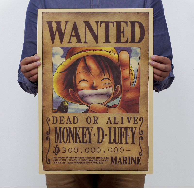 One Piece Wanted Poster Luffy