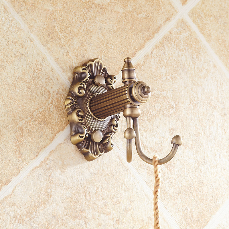 Free Shipping European Style Double Towel Holder