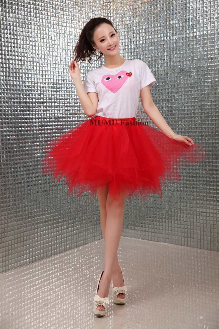 95721362d5 Red Tulle Skirts For Sale – DACC