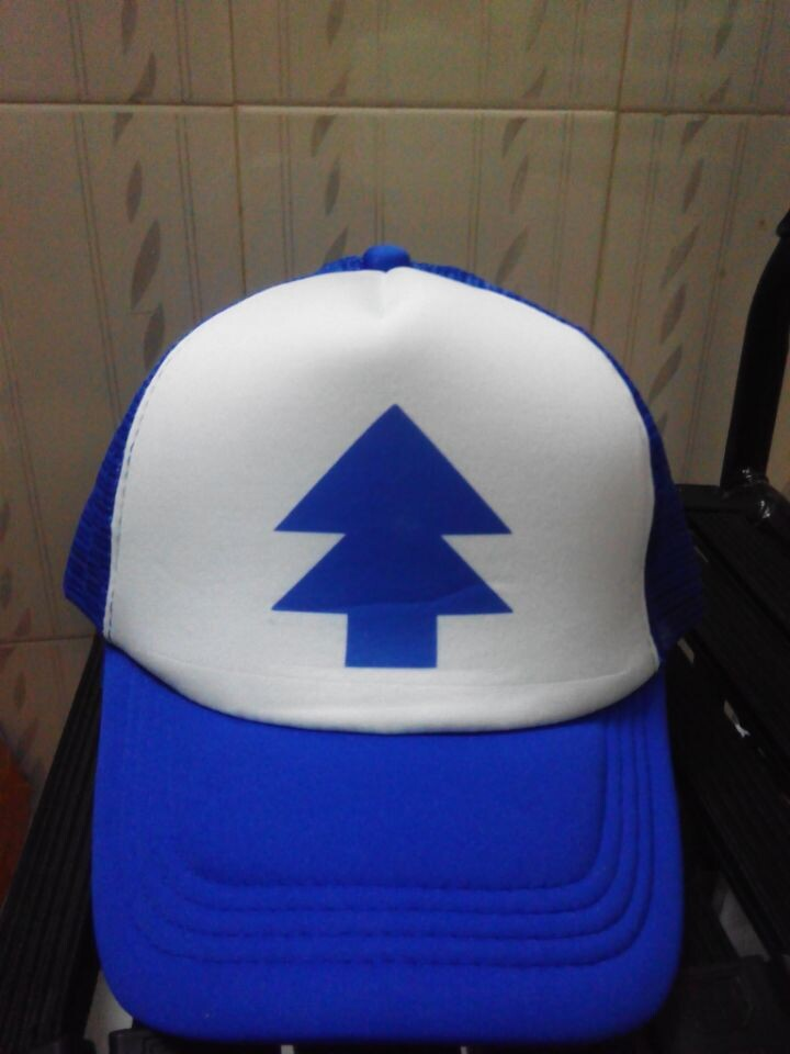 New Curved Bill BLUE PINE TREE Dipper Gravity Falls . ff2efc0b0cf7