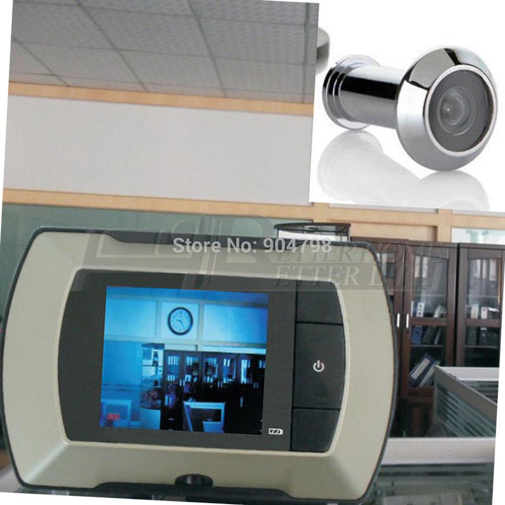 1 шт. 2.4 ЖК визуальный монитор дверной глазок двеpной беспроводной камеры видео-телефон YKS