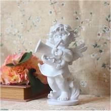 Европейские фигурки Ангела ручной работы из смолы, украшения для дома, свадебные подарки, счастливое украшение, статуи для офисной комнаты, ...(Китай)