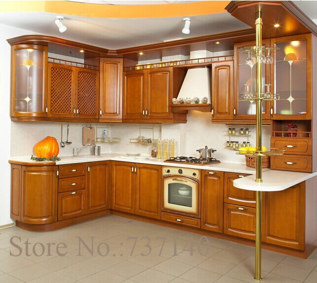 Kitchen Cabinet Solid Wood: Aliexpress.com : Buy Solid Wood Kitchen Cabinet American