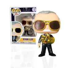 FUNKO POP новый стиль Marvel Мстители Стэн ли капитан Америка Тор виниловые фигурки, игрушки для детей, рождественские подарки(Китай)