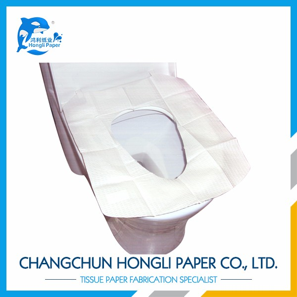 Plastic Disposable Adhesive Toilet Seat Cover Buy