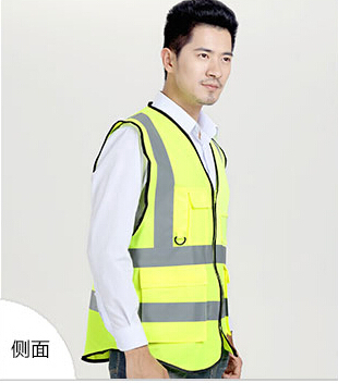Отражающий безопасный жилет трафик жилет и для санитарии работники зеленый и оранжевый безопасный одежда размер S M и L