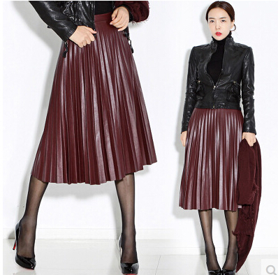 Shop for BLACK XL High Waist Pleated Faux Leather Skirt online at $ and discover fashion at coolzloadwok.ga Cheapest and Latest women & men fashion site including categories such as dresses, shoes, bags and jewelry with free shipping all over the world.