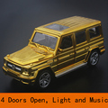 Alloy Benz G65 Diecasts car model 1 32 Die cast model car collection Alloy car Planting
