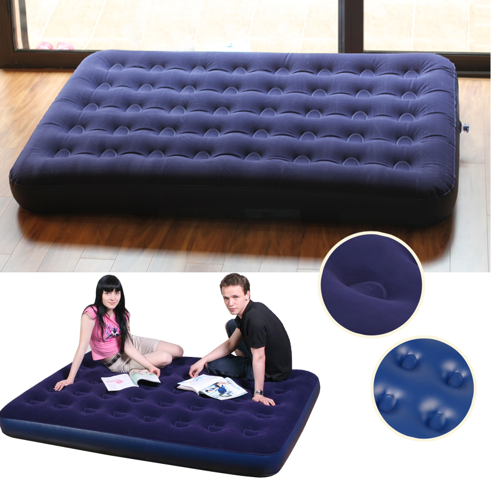 Outdoor Bedroom Blue Ultra Double Daybed Lounger Airbed