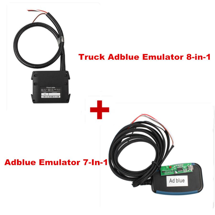 Бесплатная доставка! Adblueobd2 эмулятор 7-в-1 плюс новый оригинальный грузовик Adblueobd2 эмулятор 8-in-1