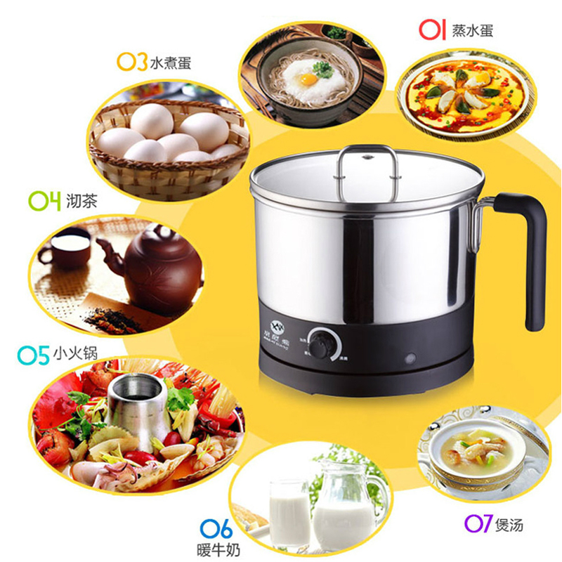 Small Electric Kitchen Appliances: Small-electric-skillet-electric-heating-pot-mini-kitchen
