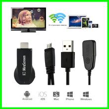 Free shipping ! Chromecast TV Stick OTA Dongle Wi-Fi Display Receiver  Miracast Airmirroring Andriod Windows iOS MiraScreen