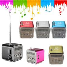 Portable Micro USB Stereo Speaker Td-v26 FM Radio Mini Parlantes Computer Speakers Loudspeakers Audio Receiver Portatil Altavoz