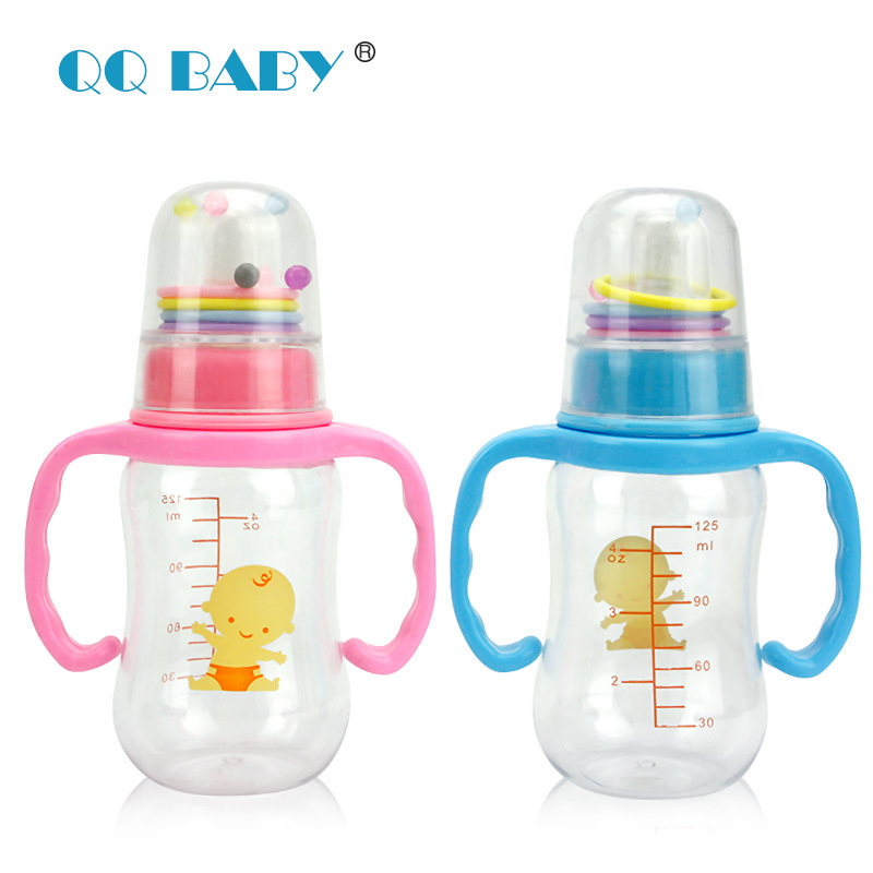 Младенцы кормление бутылки mamadeiras e chupetas 125 мл комикс мальчик синий розовый biberon младенцы