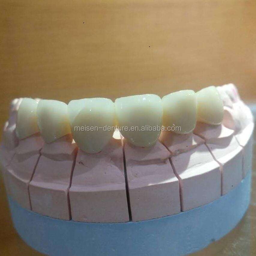 Dental Full Porcelain Zirconia Crown Denture Making