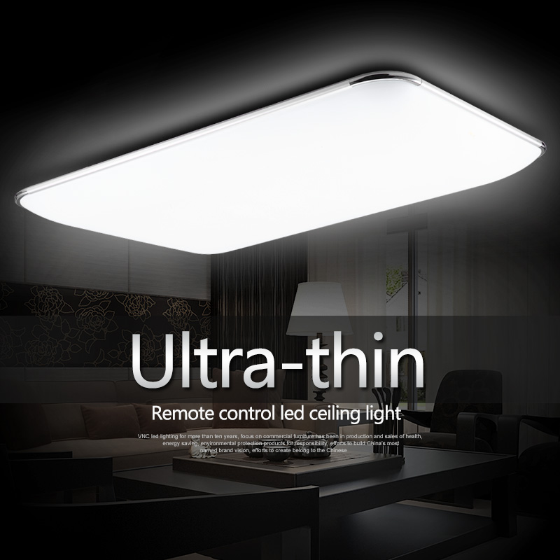 15 Ultra Modern Ceiling Designs For Your Master Bedroom: Modern Minimalist Ultra Thin Modern Square Led Ceiling