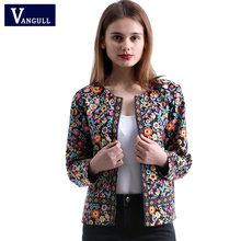 Vangull женская короткая куртка без воротника, простая весенняя куртка без воротника, 2019(Китай)