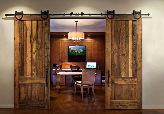 porte coulissante en bois mat riel porte de grange pour salle de cuisine portes id de produit. Black Bedroom Furniture Sets. Home Design Ideas