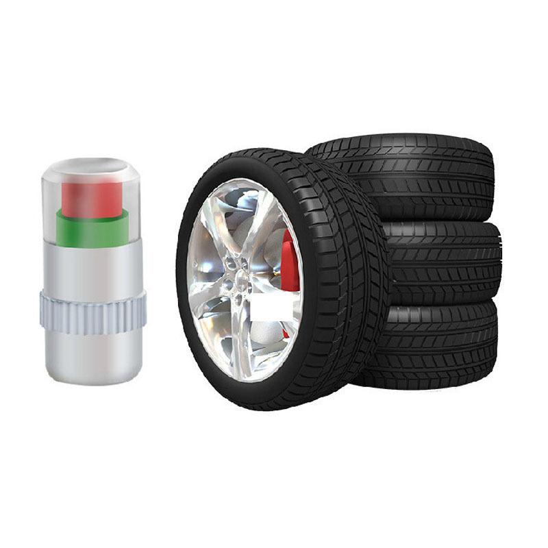 Новый 2.2bar автомобилей шин давления в шинах монитор индикатор клапана Cap датчик 3 цвет глаз уведомление