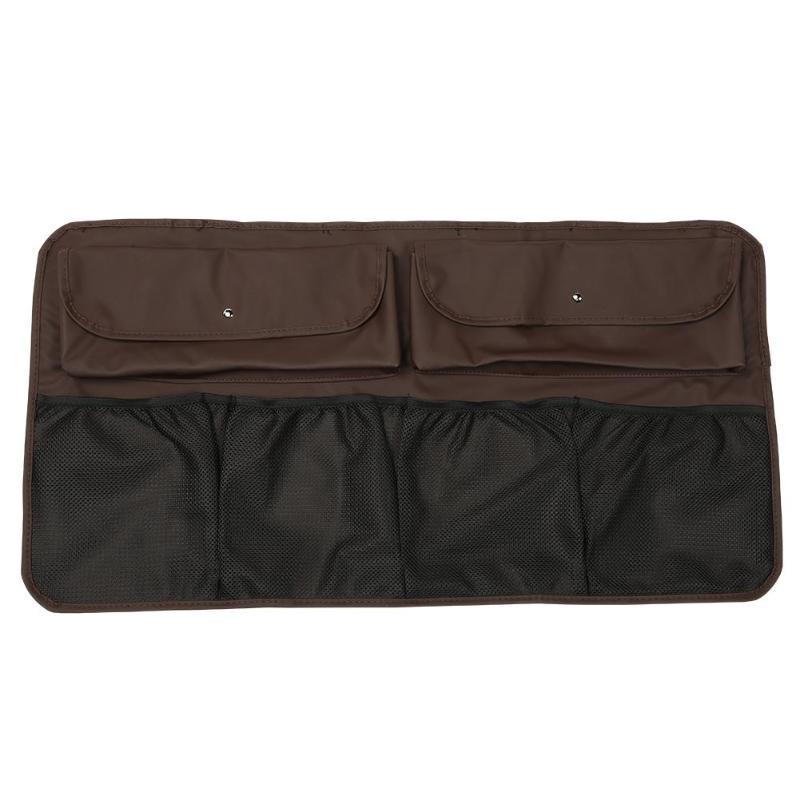 Автомобильная Задняя сумка для хранения на спинку сиденья, мульти Висячие сетки, карманный органайзер для багажника, сумка для хранения, ка...(Китай)