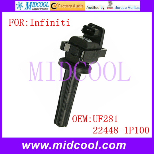 Новый катушка зажигания использования OE no. Uf281, 22448-1P100 для Infiniti Q45