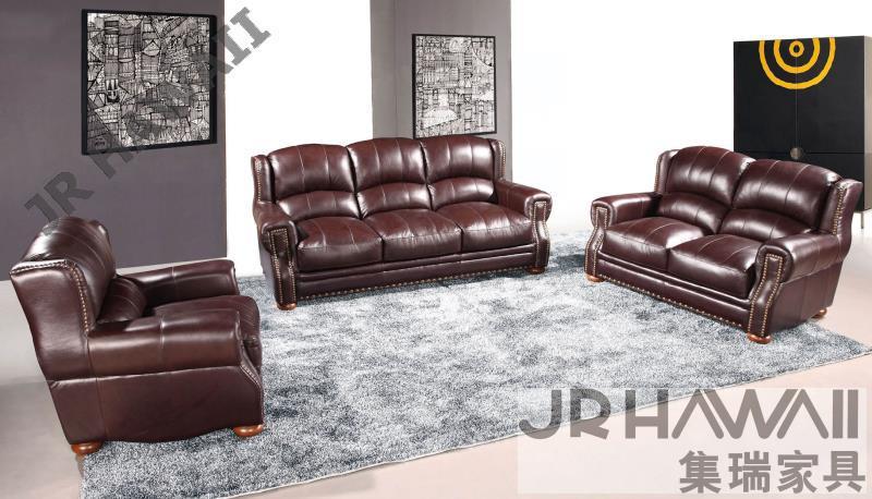 Wholesale high grad fashion genuine leather sofa simple - Wholesale living room furniture sets ...