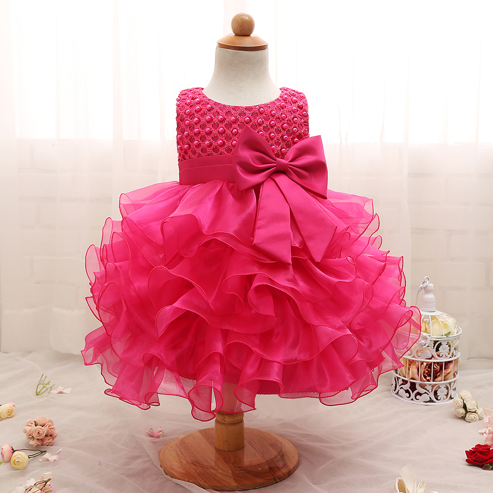 Baby Dressing Gown: 2019 Trendy Baby Girl Baptism Clothes Tulle Lush Dress For
