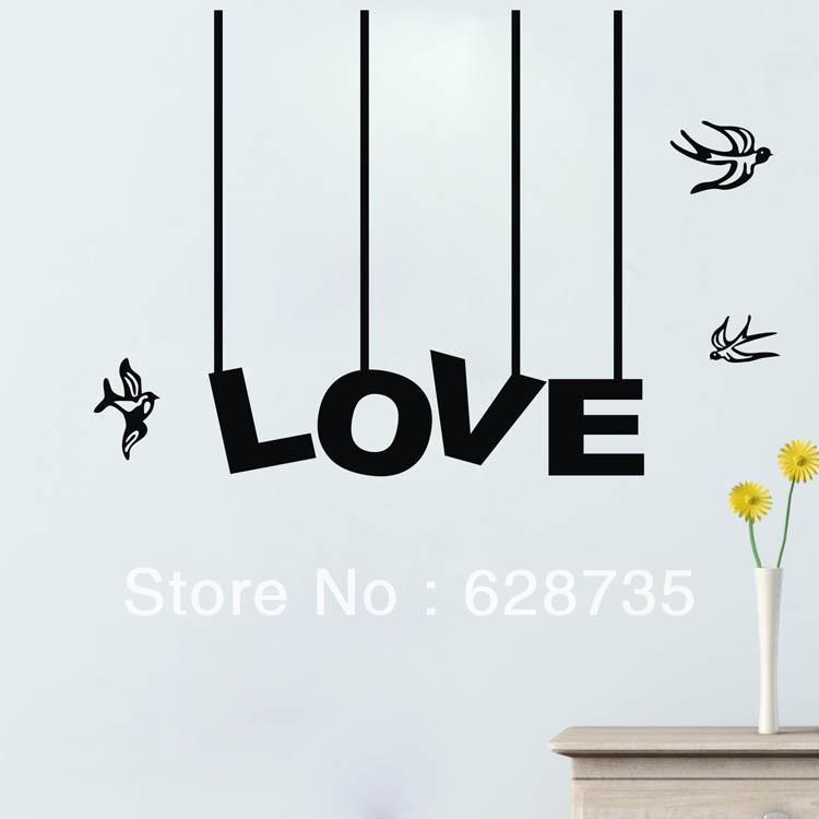 Online Kopen Wholesale Liefde Vogel Quotes Uit China