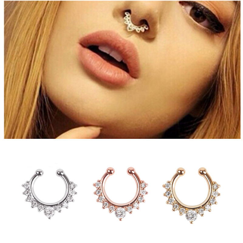 Gold Fake Nose Ring,fake nose ring,thin fake ring,fake piercing ring,clip on nose ring,tiny fake nose ring hoop,fake ring,opal nose hoop PiercingsLane. out of 5 stars () $ $ $ (15% off Get fresh Etsy trends and unique gift ideas delivered right to your inbox. Subscribe.