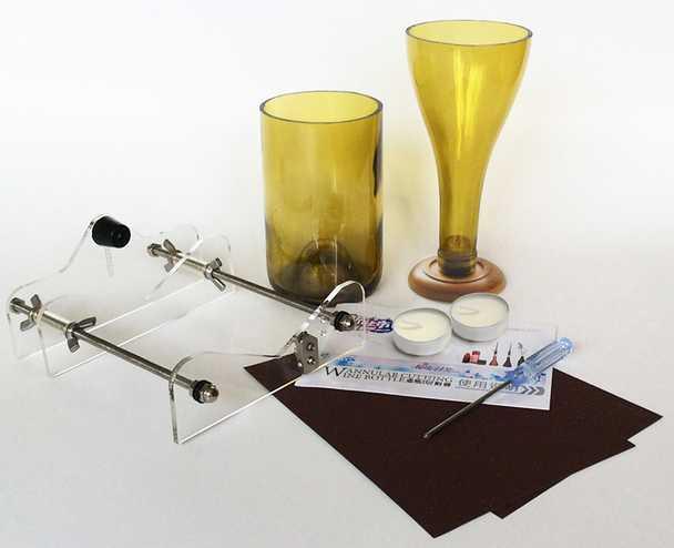 livraison gratuite professionnelle bouteille en verre cutter bouteille de vin outils de coupe. Black Bedroom Furniture Sets. Home Design Ideas