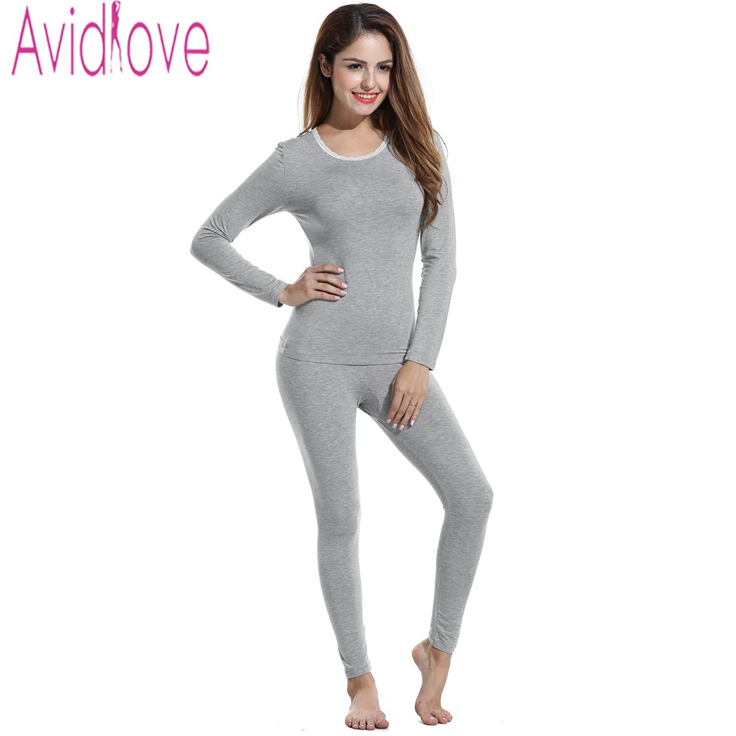 Women S Plus Size Thermal Underwear Family Clothes