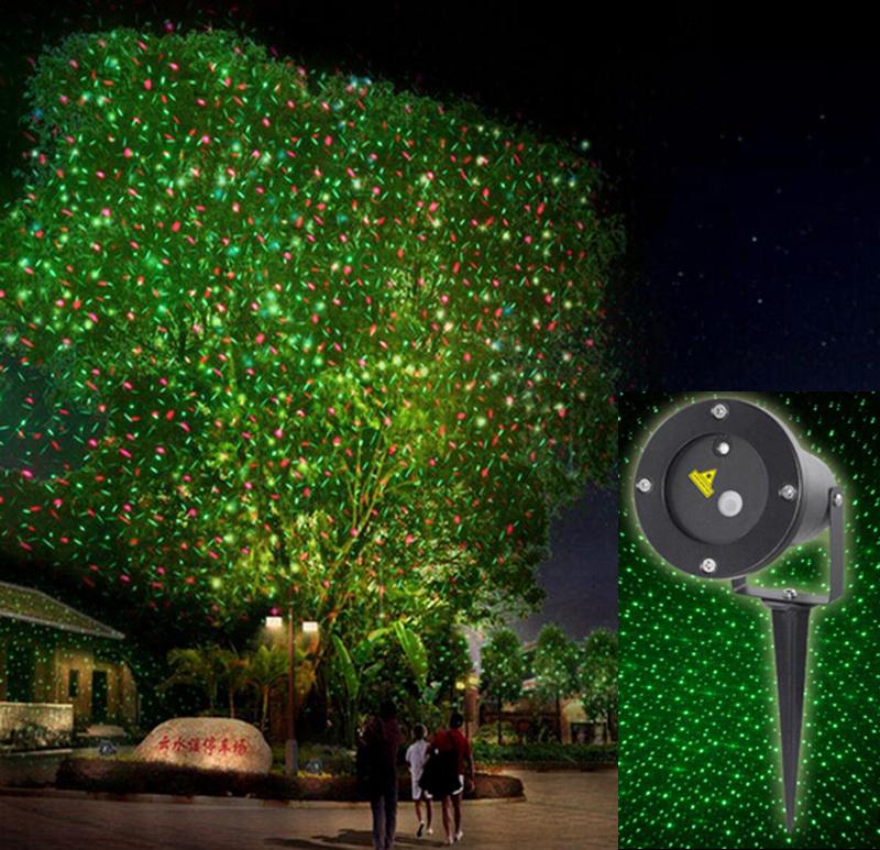 Elf Light Christmas Lights Projector Outdoor Laser/green