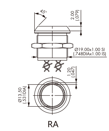 Detail Feedback Questions About 19mm Touch Sensor Piezo Button