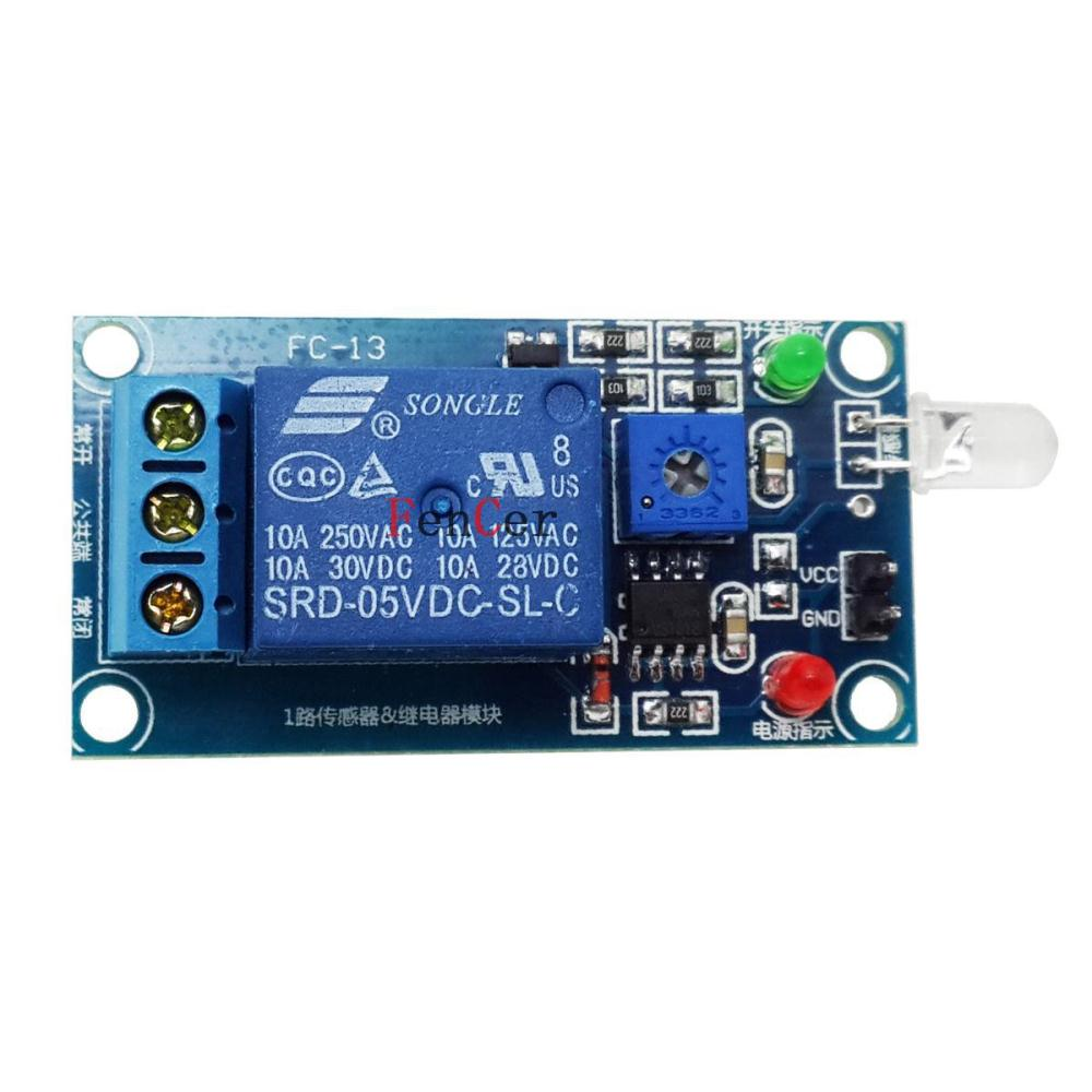 Brazil Hit 5 V Photodiode And Relay Module Light Operated