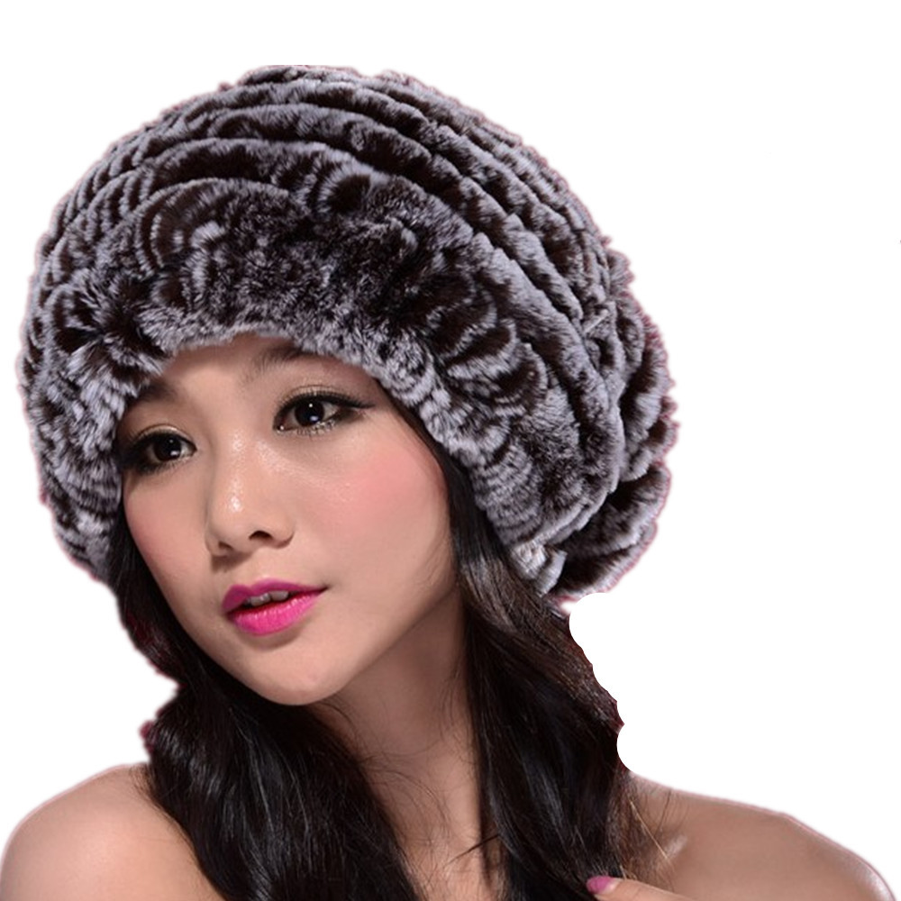 Black Womens Rhinestone Bling Fur Pom Knit Snow Beanie Ski Acrylic Hat A See more like this Large Ball Womens Hat Winter Fox 15cm Fur Pom Pom Knit Beanie Ski Cap Bobble New (Other).