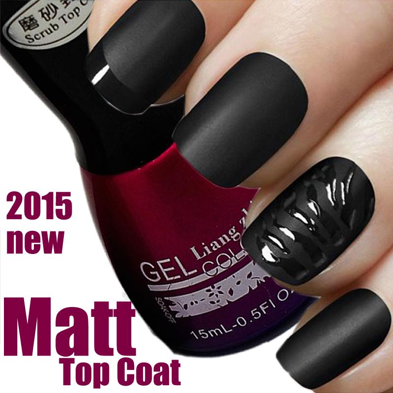 15ml Matt Matte Top Coat Dry Nail Salon Uv Gel Acrylic