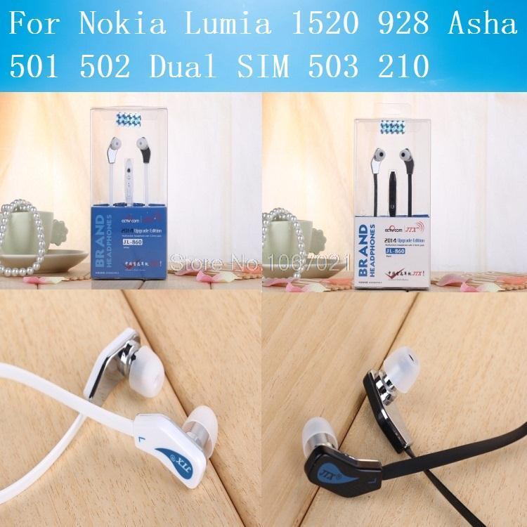 For Nokia Lumia 1520 928 Asha 501 502 Dual SIM 503 210 3.5mm Jack Stereo Volume Mic ...  For Nokia Lumia...