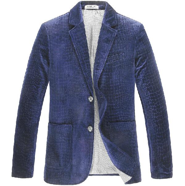 6406dc530fa4e Blue Velvet Blazer Print Plus Size S-3XL Men Blazer Designs Royal Blue  Coffee Brand Luxury Blazer Blazer MasculinoBlue Velvet   Nice plus size  clothing shop ...