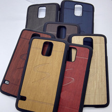 original luxury hard case for samsung galaxy s5 s 5 i9600 mobile phone cover shell by wood back fashion gold black wooden cases