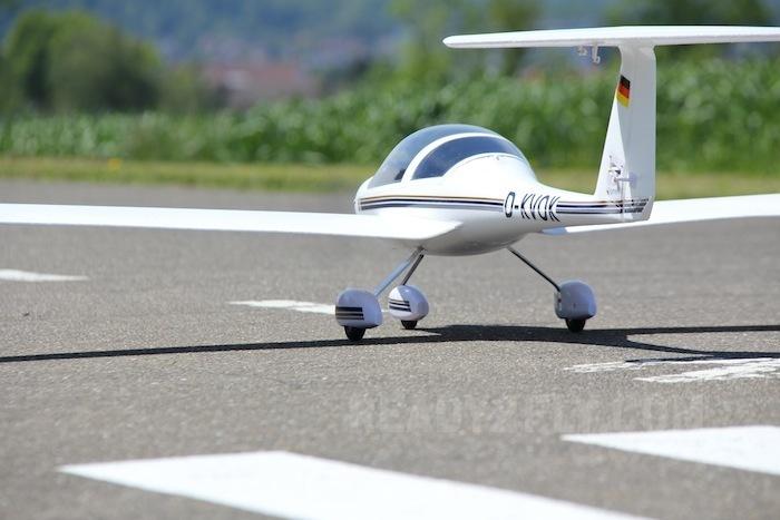 4 CH Super Dimona RC Sailplane Glider PNP and KIT 4 CH Super