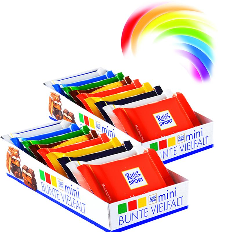 """Sugar house"" Germany import Ritter Sport Mini chocolate"