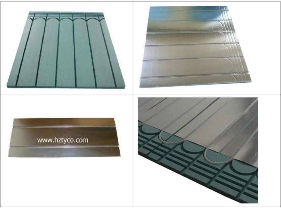 Hydronic Radiant Floor Heating Styrofoam Diy Insulation ...