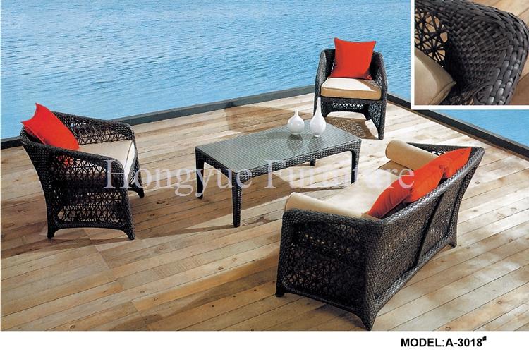online kaufen gro handel schwarz rattan sofa aus china schwarz rattan sofa gro h ndler. Black Bedroom Furniture Sets. Home Design Ideas