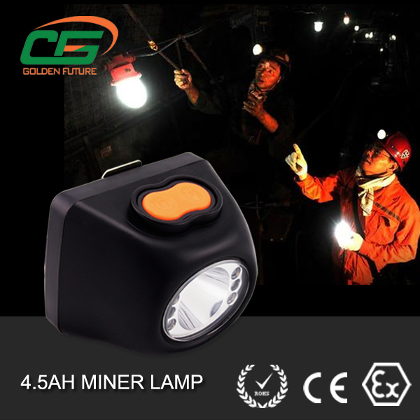Msha Approved Rechargeable Led Cordless Mining Helmet Lamp