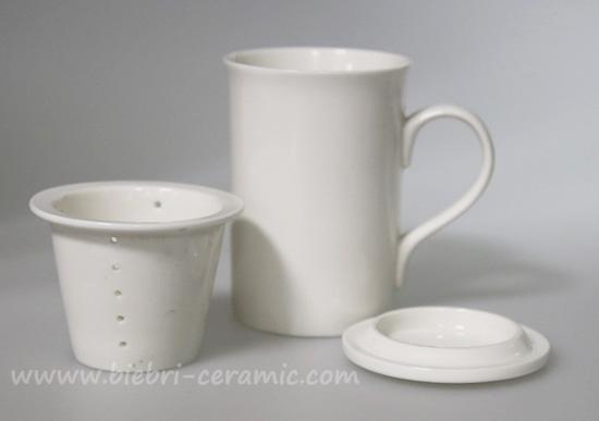 300ml Plain White High Quality Ceramic Porcelain Fine Bone