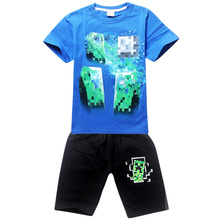 Boys Sport Clothing Set Fashionable Children Girls Fashion Vestido Set Character Girl Set Casual Baby Clothing