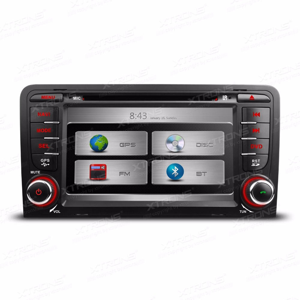"7"" HD 2Din Car GPS DVD Player For Audi A3 Touch Screen Car"
